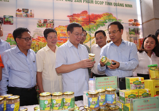 Phó Thủ tướng Vương Đình Huệ: Chương trình OCOP, hãy gắn sao vào lòng dân - Ảnh 1.