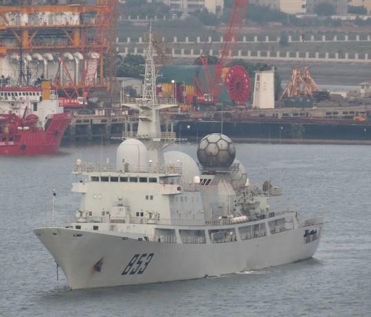 Tàu Trung Quốc do thám cuộc tập trận RIMPAC - Ảnh 1.