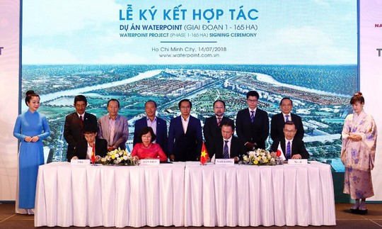 Nam Long công bố phát triển khu đô thị Waterpoint - ảnh 1