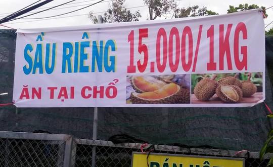 """Thực hư về """"sầu riêng ăn trả hạt"""
