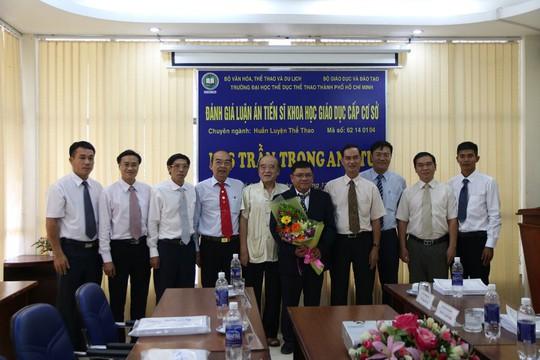 Việt Nam có tiến sĩ đầu tiên về quần vợt - Ảnh 1.