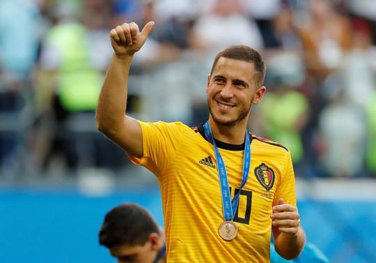 Hazard sẽ kế thừa áo số 7 của Ronaldo ở Real Madrid - Ảnh 2.