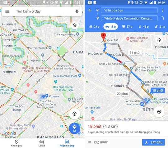 Google Maps ra mắt nhiều tính năng cho người đi xe máy tại Việt Nam - Ảnh 1.