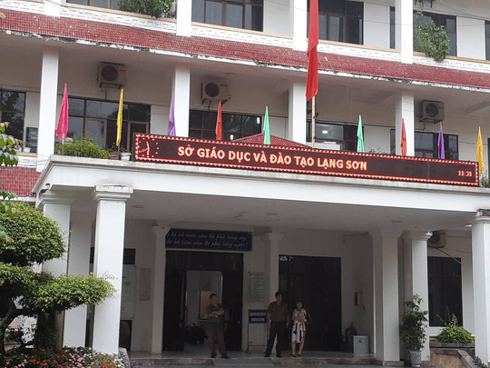 35 thí sinh có điểm cao bất thường ở Lạng Sơn: Tổ công tác làm việc từ sáng tới tối - Ảnh 3.