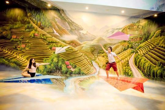 Bảo tàng tranh 3D cuốn hút giới trẻ Sài Gòn - Ảnh 5.