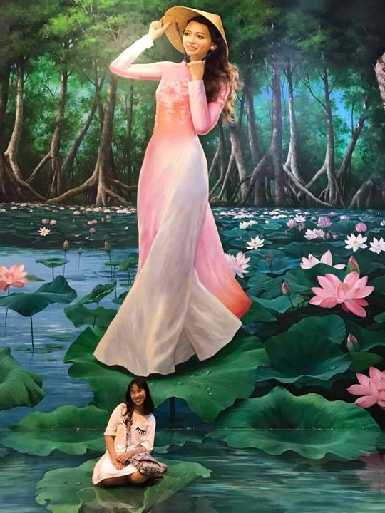 Bảo tàng tranh 3D cuốn hút giới trẻ Sài Gòn - Ảnh 6.