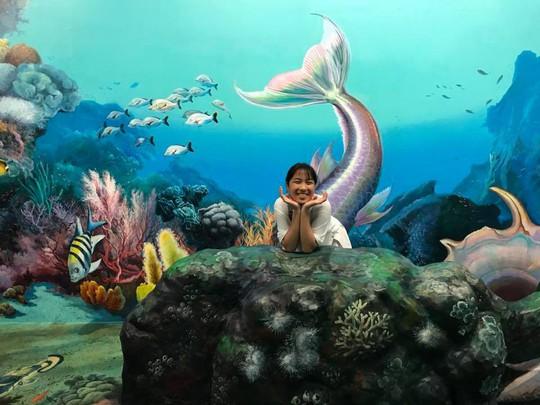 Bảo tàng tranh 3D cuốn hút giới trẻ Sài Gòn - Ảnh 10.