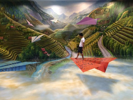 Bảo tàng tranh 3D cuốn hút giới trẻ Sài Gòn - Ảnh 3.