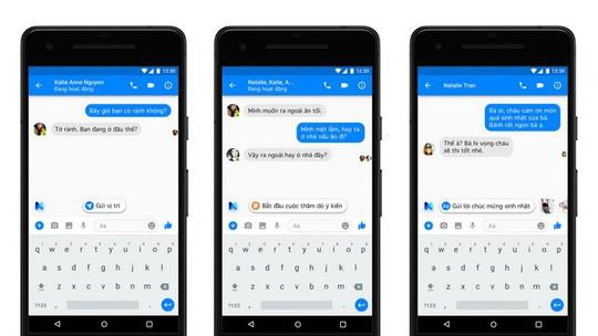 Chat trên Messenger Facebook có thêm tính năng gợi ý thông minh - Ảnh 1.