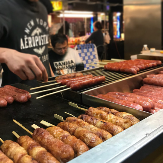 Những khu chợ đồ ăn đêm nức tiếng ở Đài Loan - Ảnh 9.