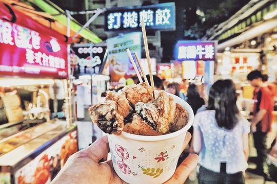 Những khu chợ đồ ăn đêm nức tiếng ở Đài Loan - Ảnh 10.