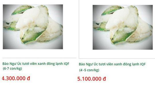 Bào ngư viền xanh 7 triệu đồng/kg, nhà giàu vẫn mua tẩm bổ - Ảnh 3.