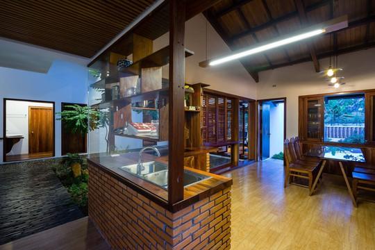 Ngôi nhà mái ngói cấp 4 đẹp như resort khiến nhiều người ước mơ - Ảnh 12.
