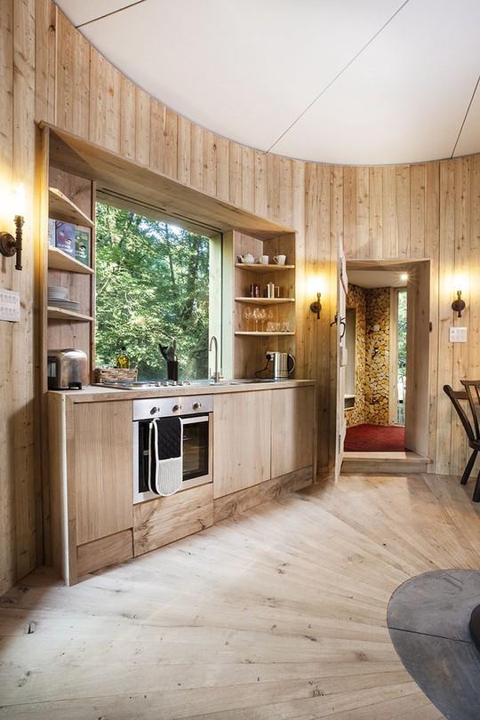 9 ngôi nhà nhỏ khiến bạn bỏ lại thành thị ồn ào để hòa mình vào với thiên nhiên - Ảnh 8.