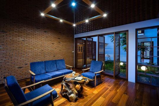 Ngôi nhà mái ngói cấp 4 đẹp như resort khiến nhiều người ước mơ - Ảnh 6.