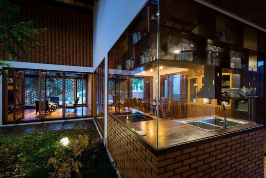 Ngôi nhà mái ngói cấp 4 đẹp như resort khiến nhiều người ước mơ - Ảnh 11.