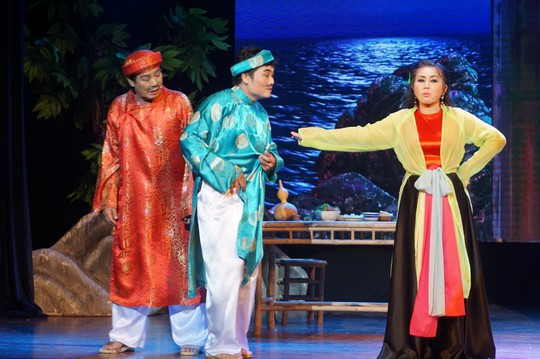 Nghệ sĩ Võ Minh Lâm xúc động hội ngộ cha trên sân khấu Hòn vọng phu - Ảnh 6.