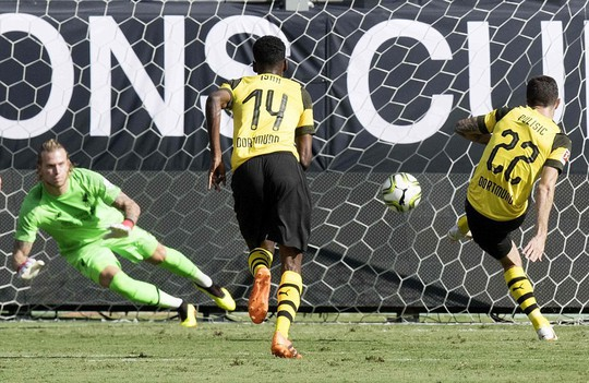 Thủ môn Karius lại hóa tội đồ, Liverpool gục ngã trước Dortmund - Ảnh 4.