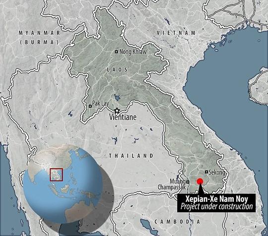 Đại thảm họa vỡ đập thủy điện ở Lào sát mé Việt Nam, cuốn hàng trăm người - Ảnh 9.
