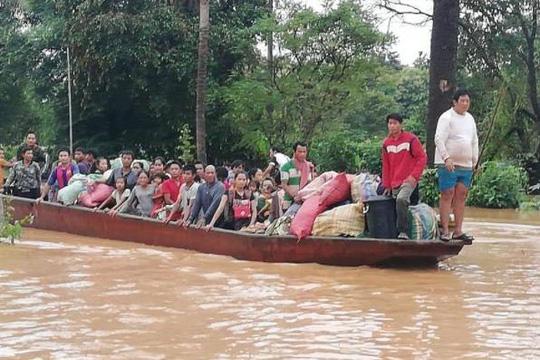 Đại thảm họa vỡ đập thủy điện ở Lào sát mé Việt Nam, cuốn hàng trăm người - Ảnh 3.