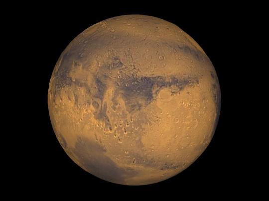 Sao Hỏa tỏa sáng cùng với trăng máu dài nhất thế kỷ - Ảnh 3.
