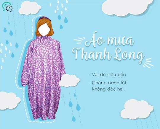 4 đồ vật cần thiết cùng bạn đi qua những ngày mưa - Ảnh 1.
