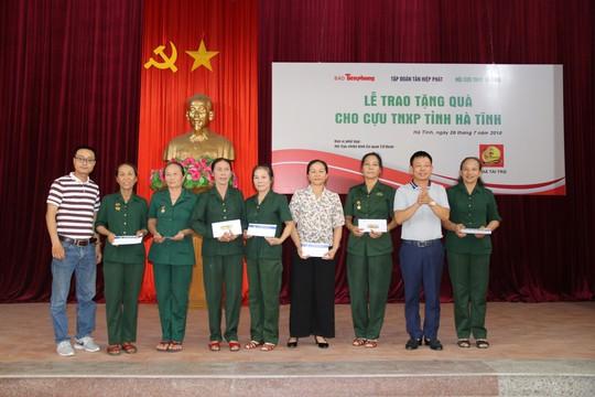 Tập đoàn Tân Hiệp Phát tích cực trong công tác đền ơn đáp nghĩa - Ảnh 1.