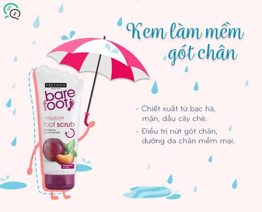 4 đồ vật cần thiết cùng bạn đi qua những ngày mưa - Ảnh 3.