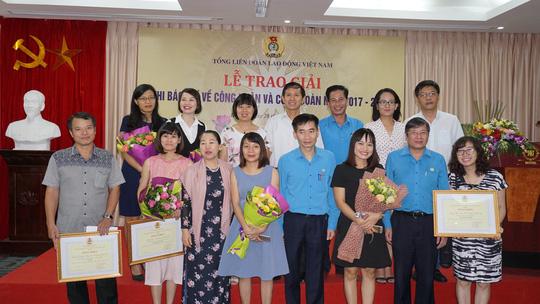 Báo Người Lao Động đoạt 2 giải báo chí viết về công nhân và Công đoàn - Ảnh 1.