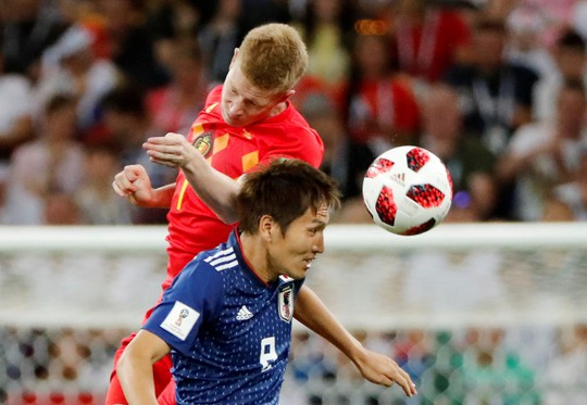 Bỉ lội ngược dòng ngoạn mục để vượt qua Nhật Bản 3-2 - Ảnh 1.