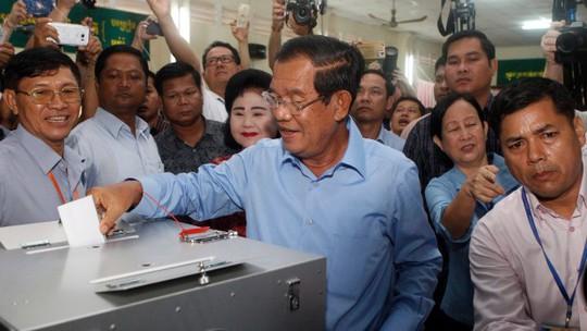 Bầu cử Campuchia: Đảng của ông Hun Sen giành chiến thắng - Ảnh 1.