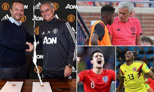 Mâu thuẫn Mourinho - lãnh đạo M.U bị đẩy lên đỉnh điểm - Ảnh 1.