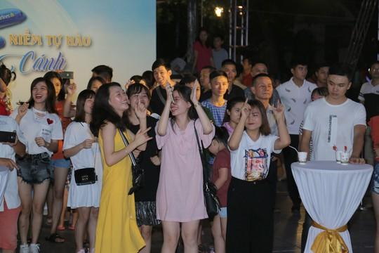 """Không khí sôi động tại sự kiện """"Không gian Vietnam Airlines - Niềm tự hào chắp cánh"""""""