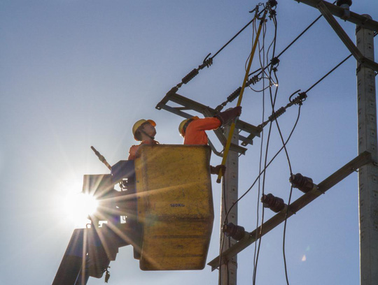 Đảm bảo cấp điện trong đợt cao điểm nắng nóng ở miền Trung - Ảnh 1.