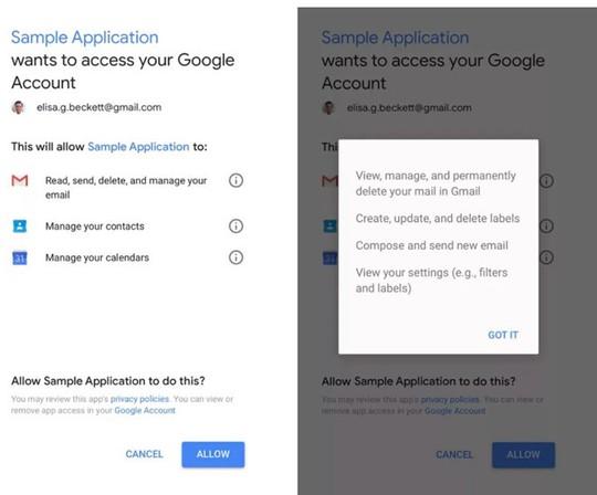 Google cho phép bên thứ ba đọc email của người dùng? - Ảnh 2.