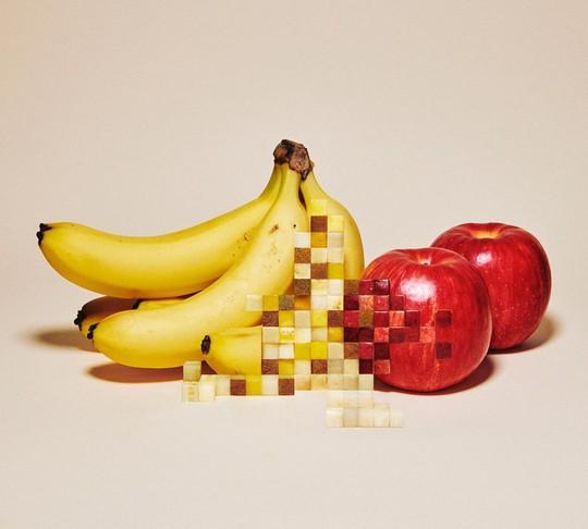 Những bức ảnh gây hiểu lầm làm từ đồ ăn - Ảnh 3.