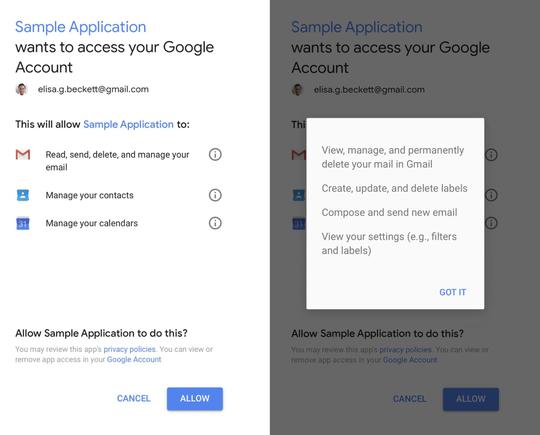 Google lên tiếng vụ bên thứ ba đọc email người dùng Gmail - Ảnh 1.