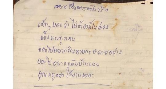 Thái Lan: Huấn luyện viên đội bóng mắc kẹt xin lỗi - Ảnh 2.