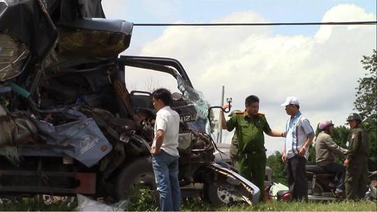 Vụ tai nạn 3 người chết ở Bình Dương: Vì xe ba gác lấn trái - Ảnh 3.