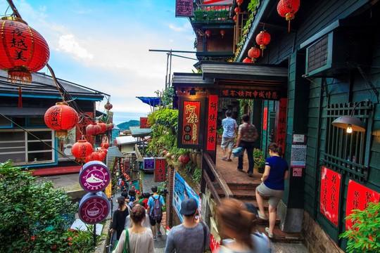 Làng cổ Cửu Phần ở Đài Loan có gì đặc biệt? - Ảnh 4.