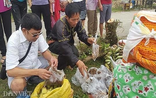 Độc đáo chợ phiên vùng cao Mẫu Sơn - Ảnh 8.