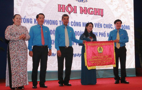 Sức hút từ hoạt động chăm lo của tổ chức Công đoàn TP HCM - Ảnh 1.