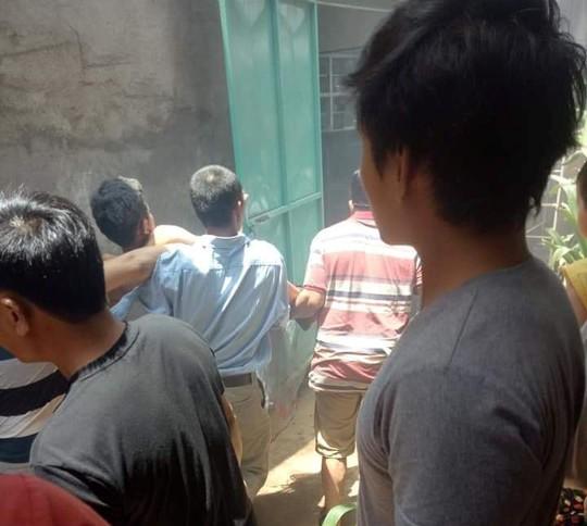 Sau tiếng nổ lớn, 2 học sinh bị thương nặng - Ảnh 1.