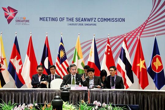 ASEAN ghi nhận quan ngại về biển Đông - Ảnh 1.