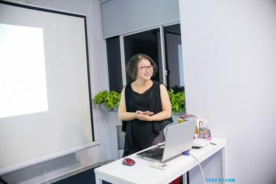 Giao lưu cùng diễn giả - tác giả Trần Nguyễn Ngọc Trang - Ảnh 3.