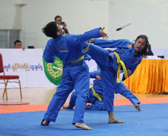 Ngắm các nữ võ sĩ Vovinam Đông Nam Á - Ảnh 7.