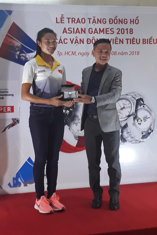 4 ngôi sao Việt Nam được đồng hồ Thụy Sĩ tiếp sức trước ASIAD 18 - Ảnh 2.