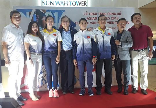 4 ngôi sao Việt Nam được đồng hồ Thụy Sĩ tiếp sức trước ASIAD 18 - Ảnh 1.