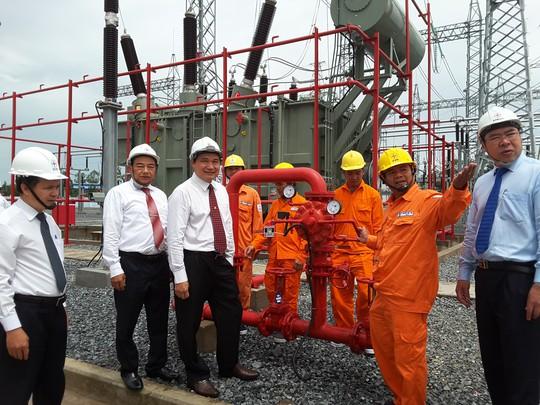 Gắn biển công trình trạm biến áp 220kV - Khu Công nghiệp Sa Đéc - Ảnh 4.