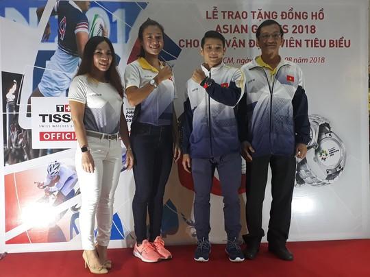 4 ngôi sao Việt Nam được đồng hồ Thụy Sĩ tiếp sức trước ASIAD 18 - Ảnh 4.